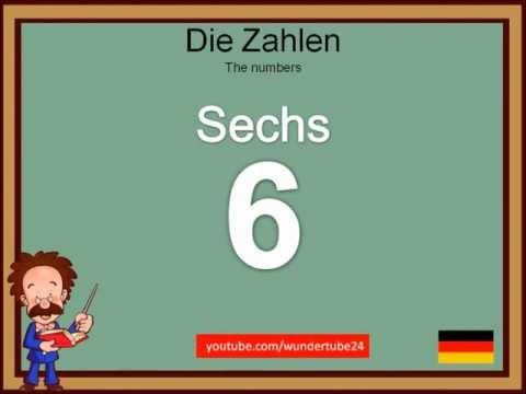 #2: LEARN GERMAN: NUMBERS / LERNE DEUTSCH: DIE ZAHLEN