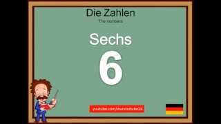 #2: LEARN GERMAN: NUMBERS / LERNE DEUTSCH: DIE ZAHLEN