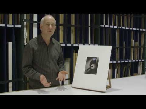 Curator Athol McCredie on Frank Hofmann's Kampa Steps, Prague; Design for bookplate; Reversal design