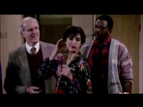 Nana Visitor Playing A Crazy Lady On Night Court