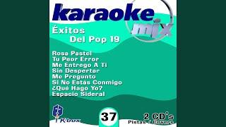 Si No Estás Conmigo (Karaoke Version)