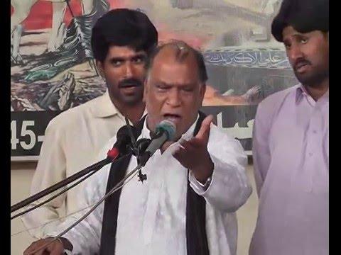Zakir Atta Hussain Mahajar  Majlis 27 Rajab 2016  Chak 107AliAli Sargodha