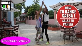 HOW TO DANCE SALSA ► MICKY ► DAME TU AMOR ► SALSA CHOREOGRAPHY 2016