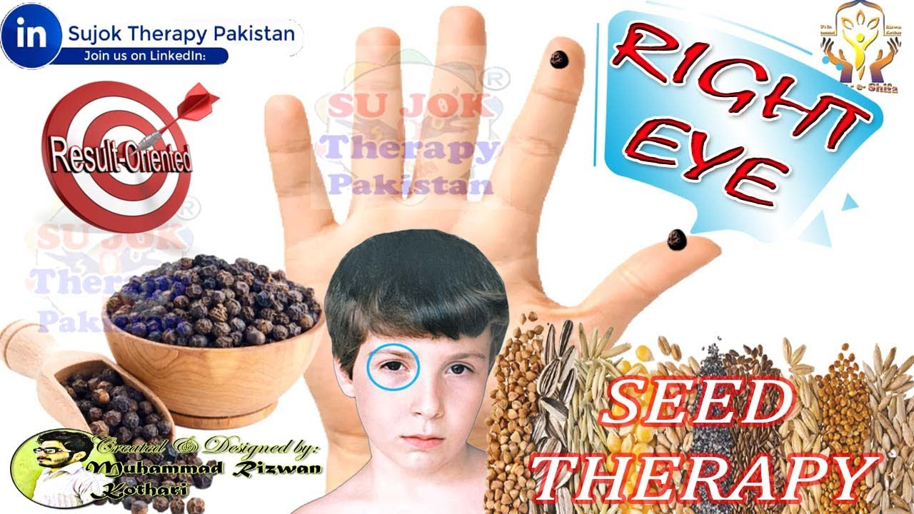 SUJOK SEED THERAPY FOR RIGHT EYE PROBLEMS & DISEASES ...