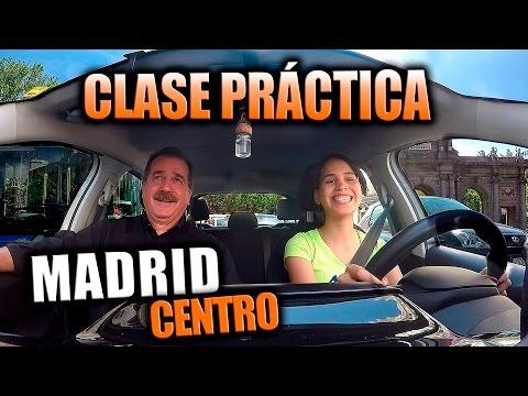 Autoescuela Lara: Clase Práctica Por El Centro De Madrid