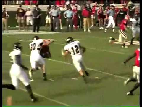 Knowshon Moreno hurdles C.Michigan Defender