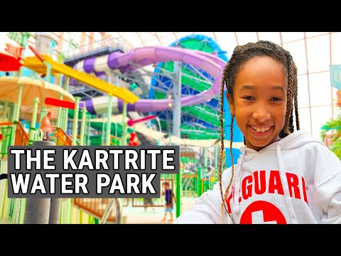 2 Days At Kartrite Water Park - Family Travel Vlog