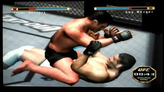 UFC Throwdown Playstation 2 Gameplay