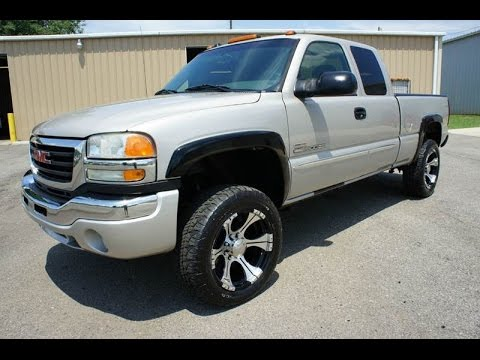 2005 gmc sierra 2500hd duramax diesel 4x4 for sale youtube. Black Bedroom Furniture Sets. Home Design Ideas
