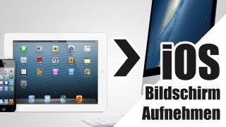 iPhone, iPad Bildschirm aufnehmen / übertragen Computer OHNE JAILBREAK - Deutsch/German