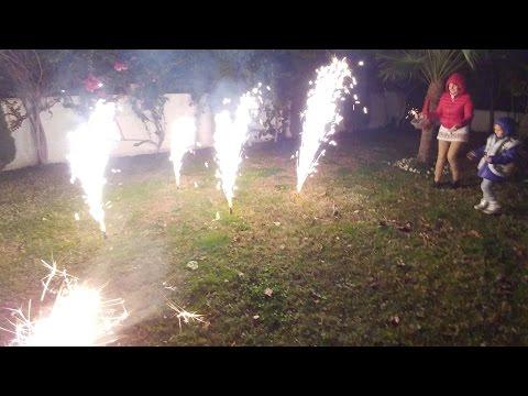 Yeni yıl Huzur getirsin.Dilek feneri uçurduk volkan ve maytap yaktık, eğlenceli çocuk videosu