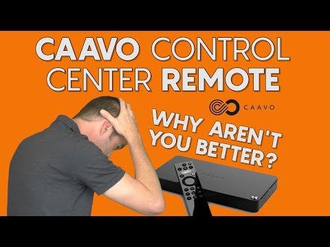 Caavo Control Center: The best IDEA for a remote control ever.