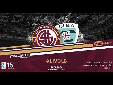 Livorno - Olbia // 2-1 // Serie C 2017-18