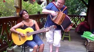 LA VALSE TRISTE accordéon diatonique  & guitare