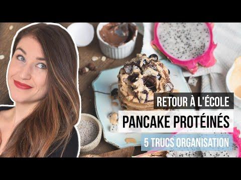 """5-trucs-santé-""""back-to-school""""- -recette-pancake-riche-en-protÉines"""