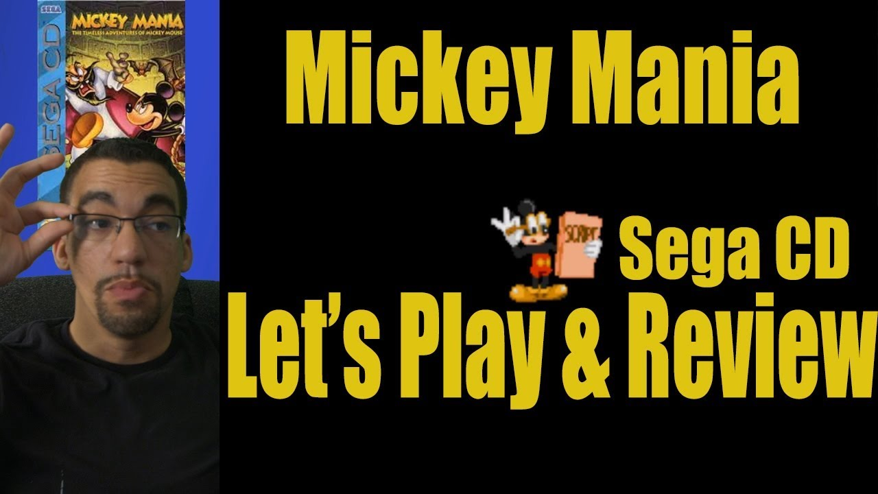 Mickey Mania - Sega CD Version- Let's Play & Live Review
