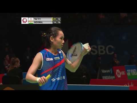 Tai Tzu Ying vs Saina Nehwal highlights | All England 2018