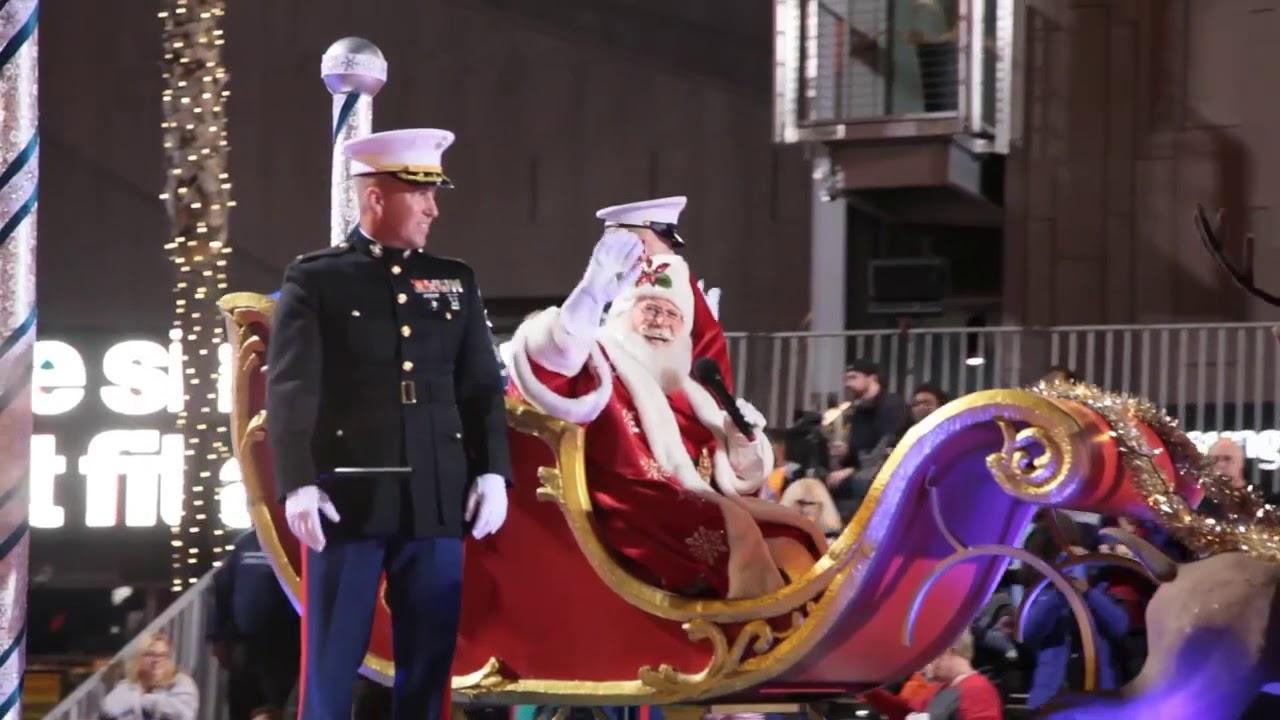 Hollywood Christmas Parade.A Look Back At The 2018 Hollywood Christmas Parade