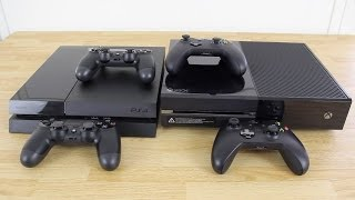 Xbox One and PlayStation 4 (PS4) Comparison (Which one should you buy?)(https://twitter.com/wwjoshdew/status/634501026083700737 This video SUCKS and is a terrible comparison. Plus people can't freaking read video descriptions!, 2013-12-19T05:32:08.000Z)