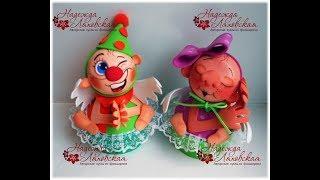 мастер - класс кукла шкатулка Надежда Ляховская