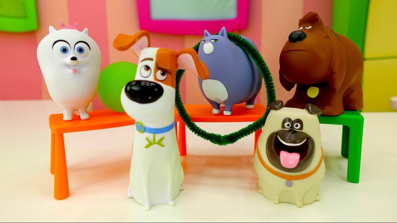 Тайная жизнь домашних животных - Прикольное видео с игрушками