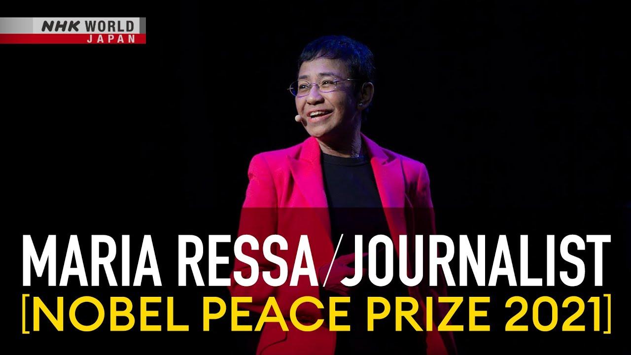 Photo of Maria Ressa / Journalist [Nobel Peace Prize 2021]: Braving Press Freedom – Direct Talk – video