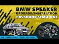 BMW Speaker Upgrade/Installation | E46 3 Series Coupe/Conv 1999-2006 | BAVSOUND Stage One