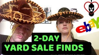 What We Found at 50+ Yard Sales for eBay Resale