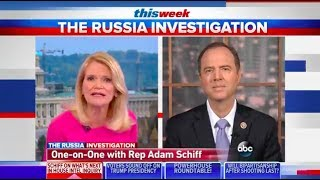 Rep. Schiff On ABC This Week: Trump Team Using Scorched Earth Tactics To Besmirch Mueller