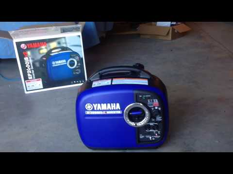 Honda eu2000i 2000 watts vs ryobi ryi2300bta 2300 watts for Honda vs yamaha generator