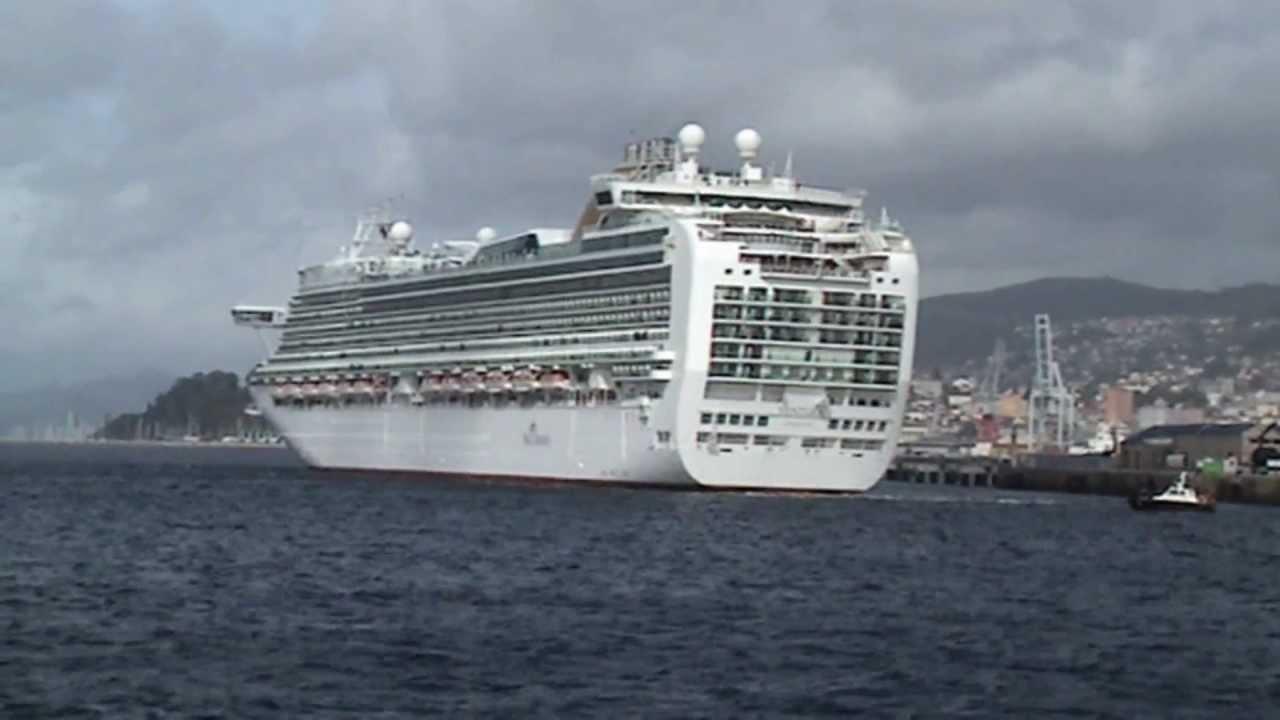 Cruceros oceana y ventura saliendo del puerto de vigo 17 - Puerto de vigo cruceros ...