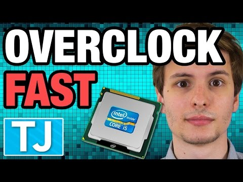 How to Overclock Your CPU -- Quick Minute Tech