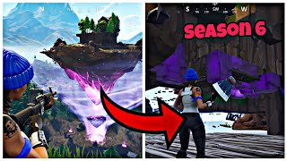 Get Inside The Floating Island (Under The Map) Fortnite Glitches Season 6 PS4/Xbox one 2018