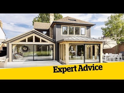 How to build a timber frame post and beam house - YouTube