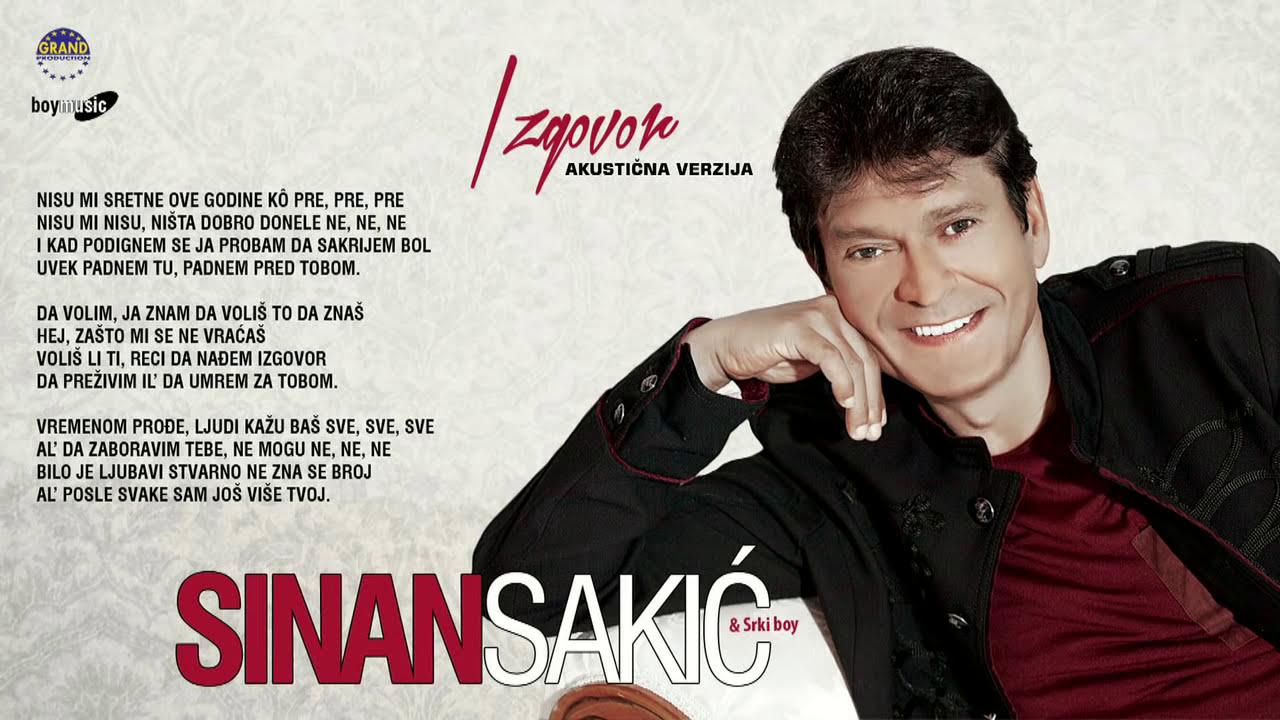 Sinan Sakic - Izgovor Akusticna verzija (Audio 2014)