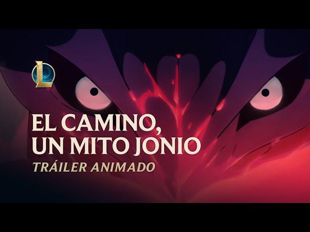 El camino, un mito jonio | Tráiler animado de Florecer espiritual 2020 - League of Legends - League of Legends - España