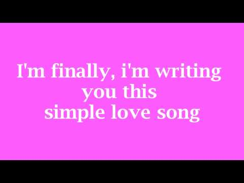 Simple love song by Anuhea (Lyrics)