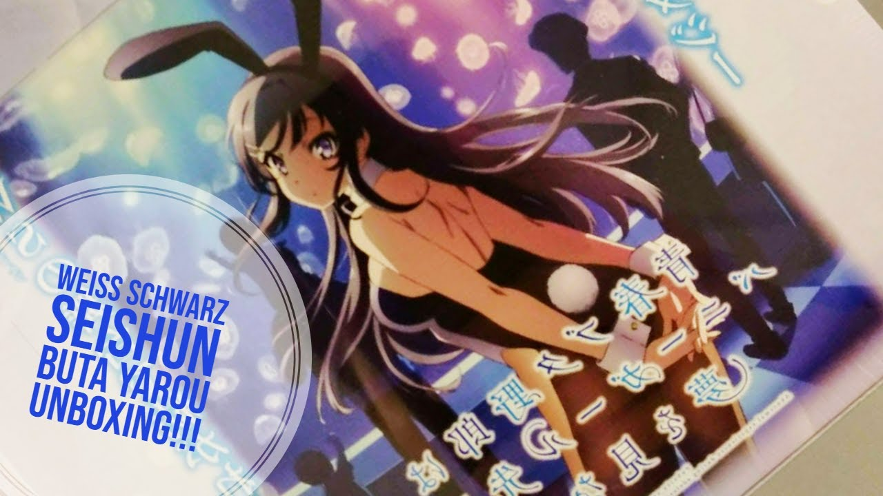Weiss Schwarz JP Rascal Does Not Dream of Bunny Girl Senpai Movie Vol.2 Booster