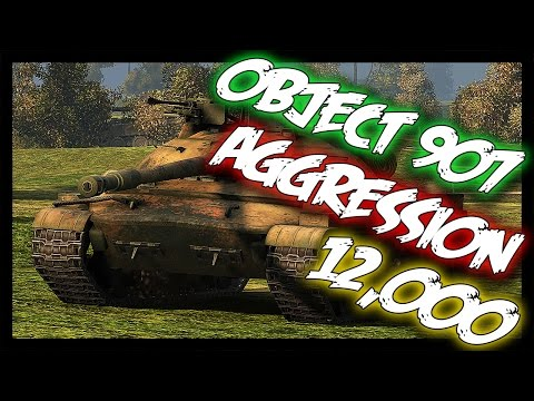 ► Object 907 - 12,000 Damage, Aggression! - World of Tanks Object 907 Gameplay