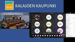 Kalajoen Kaupunki, valtuuston kokous 26.05.2020