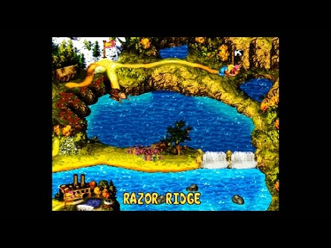 DKC3 (SNES) (105%) / 06. World 6: Razor Ridge [1080p@60]