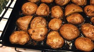 Печеный Картофель с Травами
