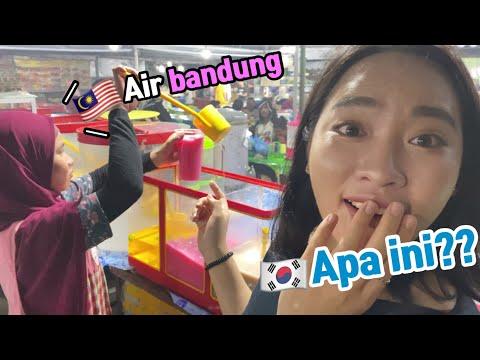 Reaction of the korean who ate the Air bandung - reaction of koreans who ate  in the malaysia drink