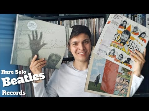 Rare Solo Beatles Records