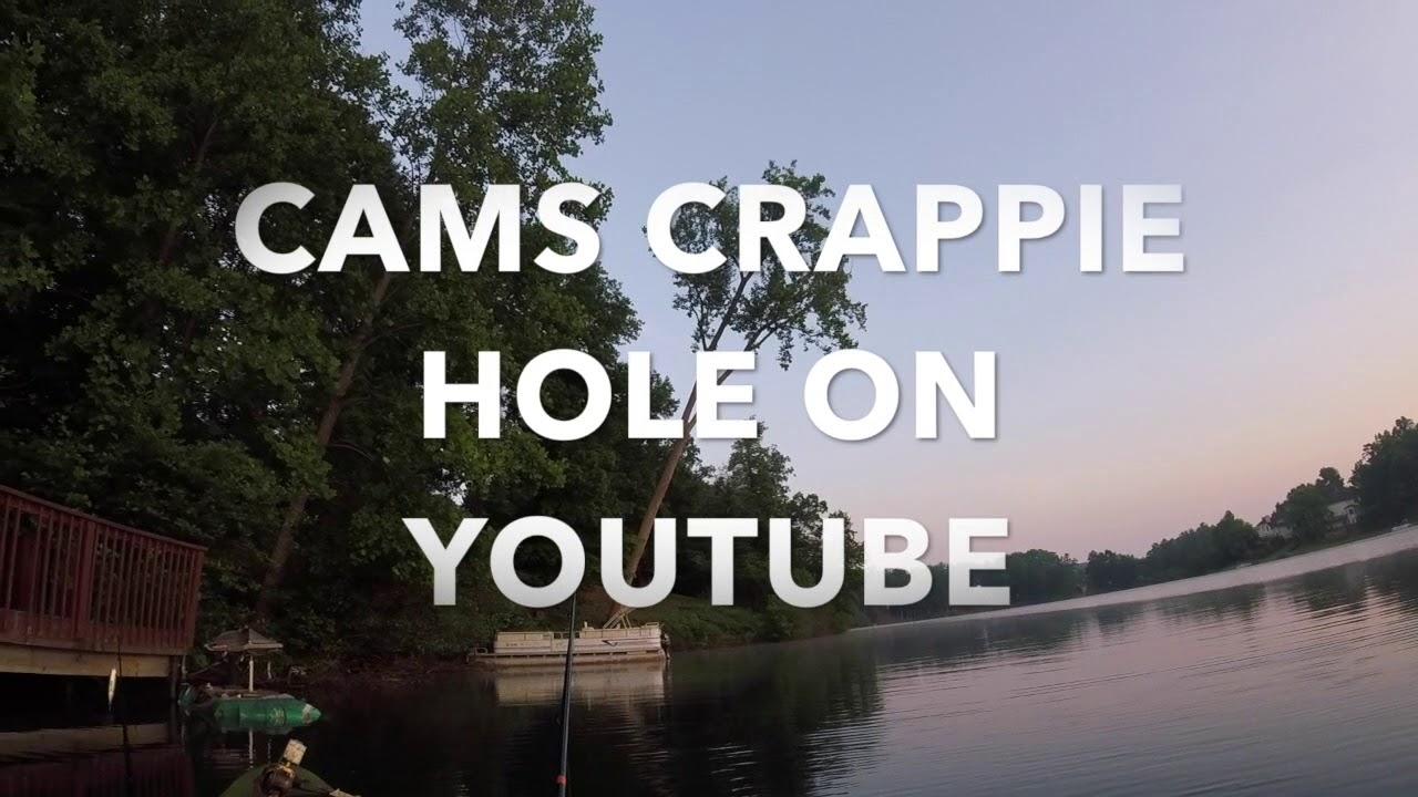 Go pro test run!! Crappie fishing beaver dam!!!