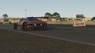 rFactor 2 - Audi R8 LMS GT3 Gameplay [4K 60FPS]