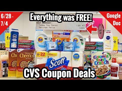 CVS Free & Cheap Coupon Deals & Haul | 6/28 – 7/4 | 100% Savings – So Many Money Makers! 🔥