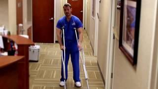 Crutch Training
