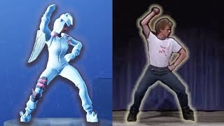 Stagione 4 Fortnite Emote in REAL LIFE Tutto FORTNIGHT Dance mai IRL - LB 😂