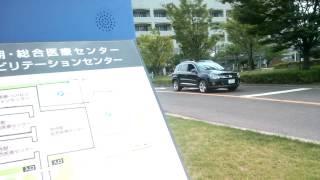 大阪府立急性期・総合医療センターに、転院搬送の為、通常走行で、新生...